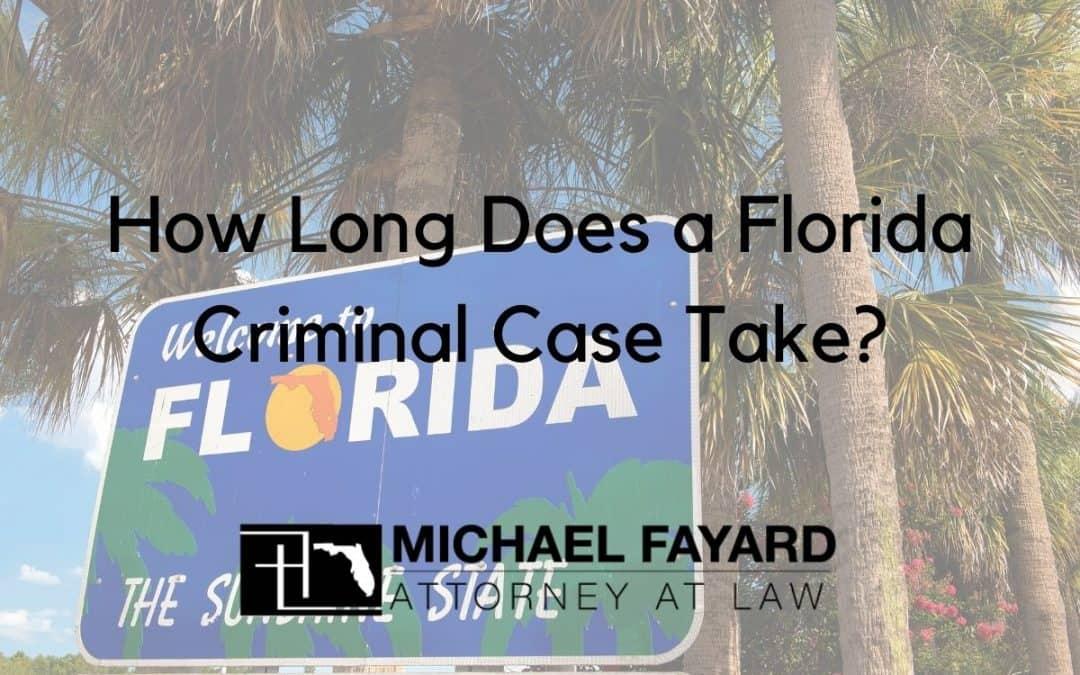 florida criminal lawyer Michael Fayard, Attorney at Law